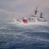"""U S Coast Guard Cutter Gallitin"" by realismbybill"
