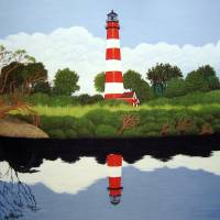 """Assateague Island Lighthouse"" by FredericKohli"
