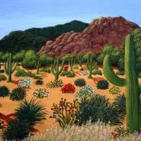 Saguaro Desert Art Prints & Posters by Frederic Kohli