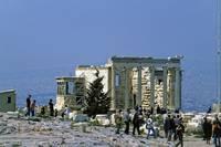 Erechtheum, the Acropolis, Athens 2003 by Priscilla Turner