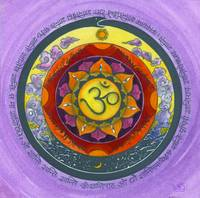 World Peace Mandala (Lavender)