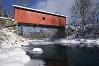 Classic Vermont Covered Bridge