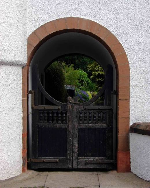 Doorway in Doune, Scotland