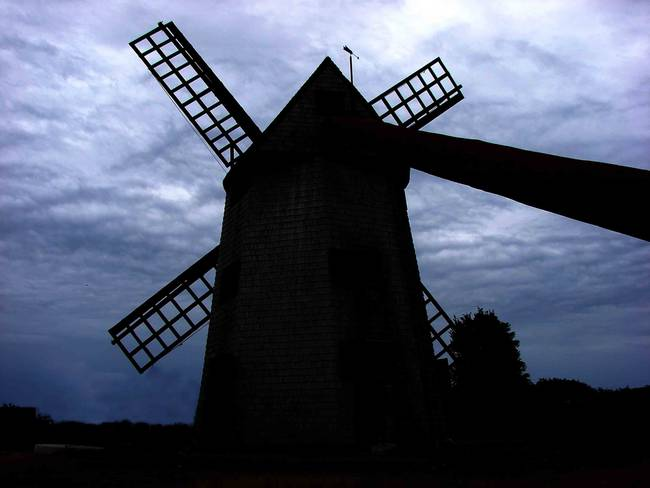 windmill on Nantucket