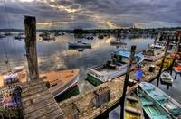 Boothbay Harbor at Day's End