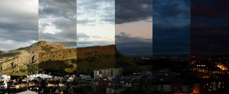 Holyrood Park Time Lapse