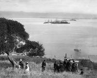Picnic on Yerba Buena Island, view to East Bay, Oc by WorldWide Archive
