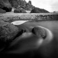 Fogarty Creek Oregon Pinhole