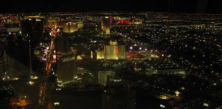 Las Vegas from Stratosphere