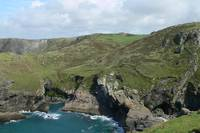 North from Tintagel