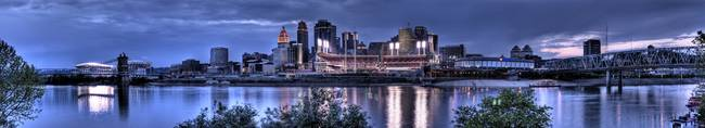 Cincinnati at Twilight