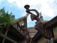 Side View of Tiki Room