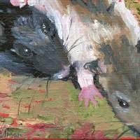 Rats Art Prints & Posters by Miriam Schulman