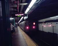 R68 B Train Leaving 125th Street