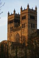 Durham Cathederal evening sunset