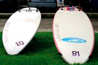 Long board, short board