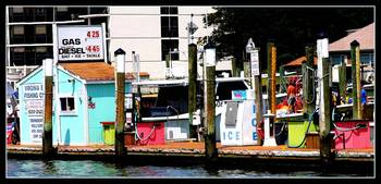 Colorful Fishing Center