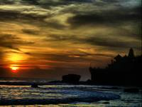 tanah lot retouch