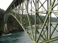 Deception Pass Bridge on Whidbey Island, WA