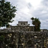 mayan temple in tulum Art Prints & Posters by joshua white