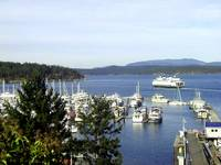 Ferry Leaving Friday Harbor