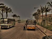 Going home from IBM Egypt during a sandstorm [Tone