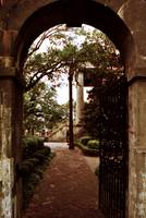 Randolph Hall Gate View