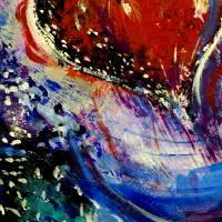 Hearts Adrift Detail 3 Art Prints & Posters by Doug La Rue
