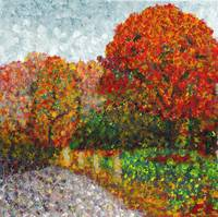 Impressionist Painting of Autumn