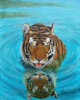 Cool Tiger Painting