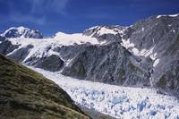 Mount Tasman and Fox Glacier, New Zealand