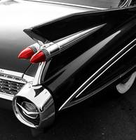 Red Tail Light - Large Fin Cadillac
