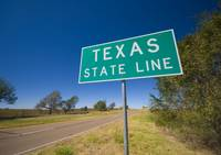Texas State Line on Route 66