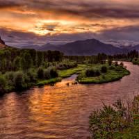 """Snake River Sunrise"" by jpat"