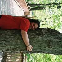 My tree hugger Art Prints & Posters by Rachel Meyer
