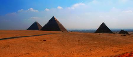 Three Pyramids Of Giza