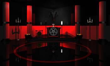 Satanic Altar By Baphometgallery