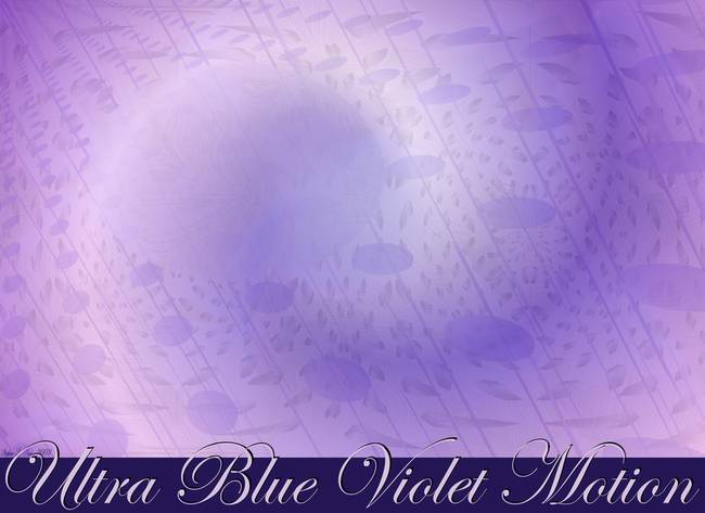 Ultra Blue Violet Motion With Lettering Poster Des