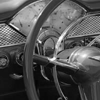 """vintage car study"" by tiffanybeaneartist"
