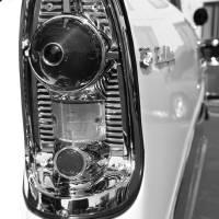 """vintage car study black ; white"" by tiffanybeaneartist"