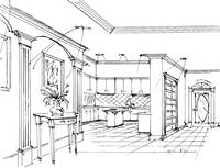 Gateway Concept Sketch Kitchen
