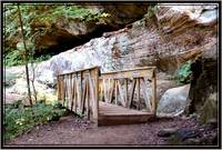 Bridge Hocking Hills ohio
