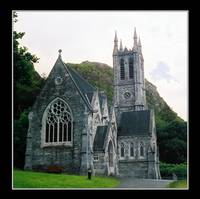 The Gothic Chapel: Kylemore Abbey