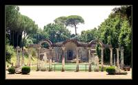The Greek Pond: Hadrian's Villa, Tivoli