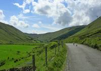 Heading Up Glengesh Pass