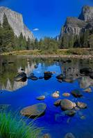 2008 Merced River Reflection - Yosemite