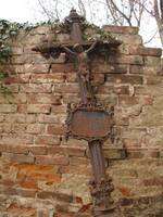 Cross in Cemetery - Kutna Hora, Czech Republic