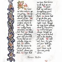 """""""Prayer of Thomas Merton"""" by JReubenAiton"""