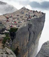 Are you afraid of heights? Come to Preikestolen, N