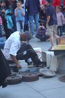 Street Performer in Boston